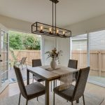 Dining Out to side yard